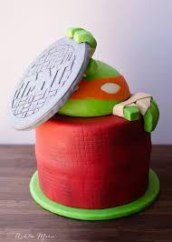tmnt cake mutant turtles cake ashlee