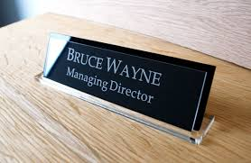 custom office desk signs executive personalised desk name plate custom engraved sign office