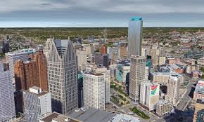 Comerica Park Map Here U0027s What Detroit U0027s Skyline Would Look Like With Hudson U0027s Tower