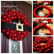 diy santa ornament wreath tutorial diy crafts christmas easy