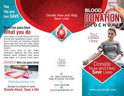 blood donation brochure template u2013 download free psd design