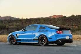 ford mustang modified highly modified 2012 grabber blue ford mustang gallery ford