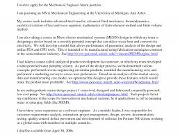 cover letter for mechanical engineer gorgeous engineering internship cover letter 2 electrical job