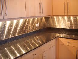 metal backsplash stainless steel backsplash with square pattern
