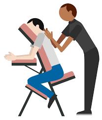 Massage Desk Chairs Book A Chair Massage For The Office Zeel Corporate Wellness