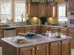 Low Cost Kitchen Design by Coffee Maple Galze Cabinets Charleston Coffee Glaze Kitchen