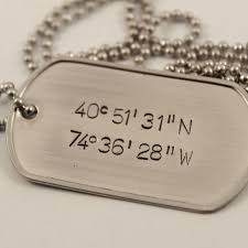 customized dog tag necklaces buy a crafted personalized custom sted dog tag pendant