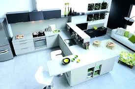 cuisine avec ilot central pour manger ilot central cuisine pour manger plan de travail pour ilot central