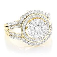 ladies rings designs images Ladies designer diamond ring 1 21ct 10k gold jpg