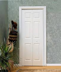 6 Panel Bifold Closet Doors Mastercraft Colonist Primed Woodgrain 6 Panel Bi Fold Door At