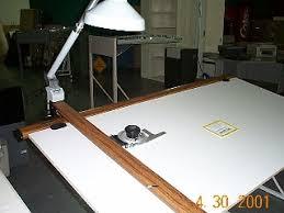 Norman Wade Drafting Table Used Drafting Machines Hopper U0027s Drafting Furniture