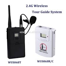 tour guide headset system 2 4g wireless tour guide system wus068rc audio guide equipment