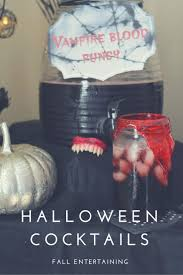 halloween party cocktails vampire blood punch drink recipe