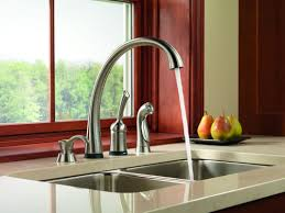 delta touch kitchen faucet faucet 4380t ar dst sd in arctic stainless by delta