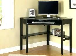 Piranha Corner Computer Desk Large Corner Computer Desk Black With Hutch Image Of Top Intended
