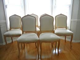 Best Fabric For Reupholstering Dining Chairs  How To Reupholster - Reupholstered dining room chairs