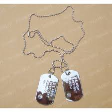 Engraving Jewelry Dog Tags Necklace For Men With Engraving Jewelry
