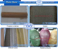 Fireplace Chain Screens - high quality colorful fireplace chain curtain screen fireplace