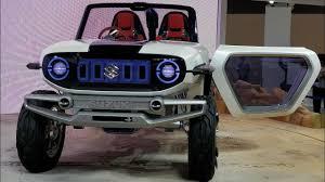 futuristic jeep suzuki e survivor maruti u0027s future compact suv live motorbeam