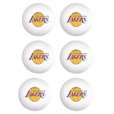 table tennis los angeles los angeles lakers wincraft 6 pack table tennis balls 8 99