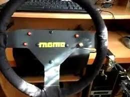 volante tipo logitech reformado volante casero tipo tc