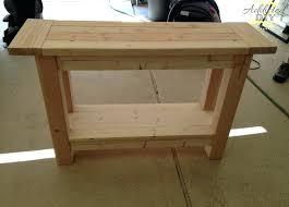Diy Sofa Table How To Build A Sofa Table How To Build A Sofa Table Inspirational