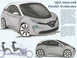 opel adam interior roof opel adam with parallel architecture parallel architecture designs
