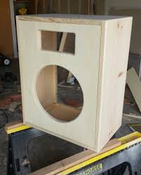 Bass Speaker Cabinet Design Plans Building A 1x12 Guitar Speaker Cabinet Toddfredrich