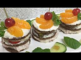 how to canapes a savoury cheesecake made with black bread how to