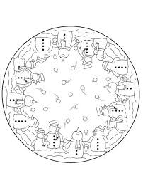 children coloring pages winter snowman winter coloring pages of