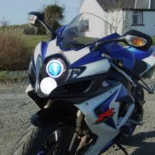 kt headlight for suzuki gsxr600 gsx r600 2006 2007 led angel eye