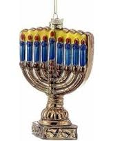find the best savings on noble gems menorah ornament