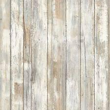 roommates rmk9050wp distressed wood peel and stick wall decor ebay