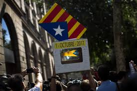 spanish police move to enforce ban on catalan independence referendum