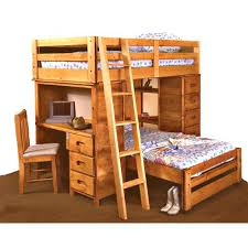 Bunk Bed With Desk And Drawers Loft Bed With Desk And Drawers Everything Is Included In This One