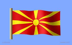 Flag Of Macedonia Wallpaper For Computer Macedonian Flag Desktop Wallpaper 1680
