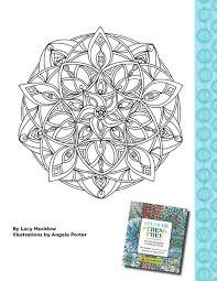color me stress free coloring book printable joann