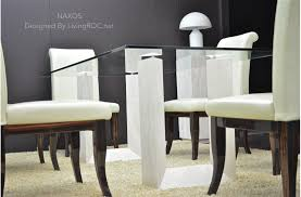 2000mm travertine stone marble dining table u0026 tempered glass naxos