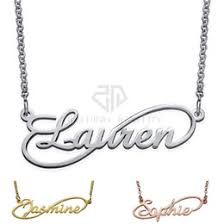 Cheap Name Necklace Necklaces Name Styles Online Necklaces Name Styles For Sale