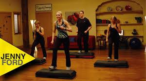 step aerobics step by step jenny ford youtube