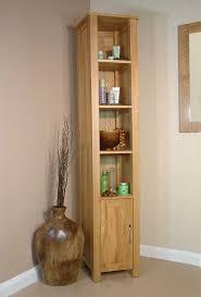 bathroom oak tall bathroom cabinet nice on with solid two