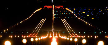 model airport runway lights thousands of runway lights finavia