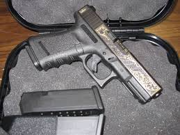 gold inlay engraving gold inlaid glock 19 the firearm blogthe firearm