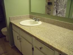 how to replace a bathroom countertop with granite tile replacing