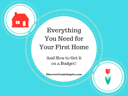 everything you need to furnish your first home and how to get it