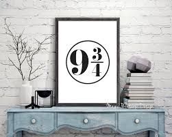 70 off sale platform 9 3 4 print harry potter platform 9 3 4