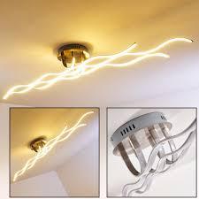 Wohnzimmer Deckenlampe Design Wellenförmige Designer Leuchte Aus Metall Für Das Wohnzimmer