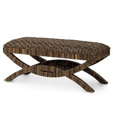 bench wicker benches rattan benches ott s wicker white at lowes