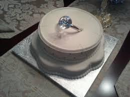 engagement ring bridal shower cake cakecentral com