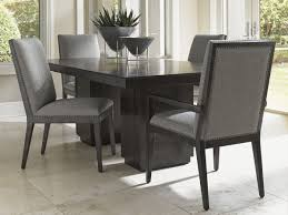 pedestal dining room sets carrera modena double pedestal dining table lexington home brands